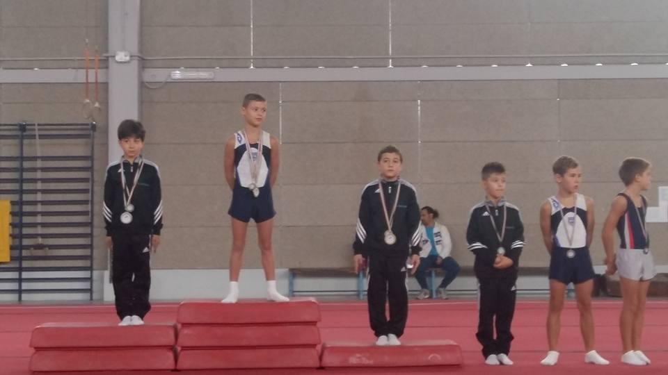 I campioni sul podio