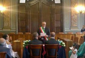 Albano, celebrata la prima unione civile