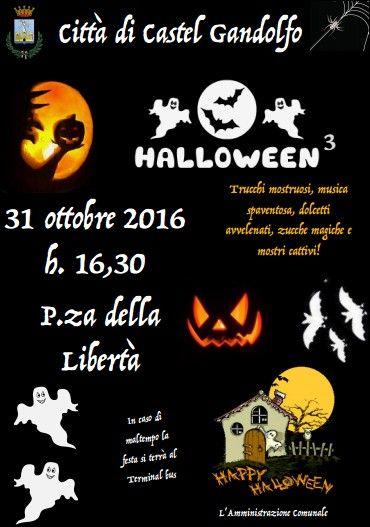 Castel Gandolfo festeggia Halloween