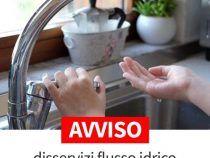 Interruzione del flusso idrico questo pomeriggio a Genzano