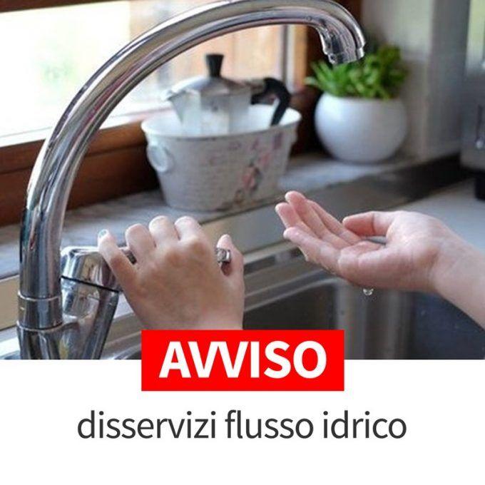interruzione flusso idrico velletri