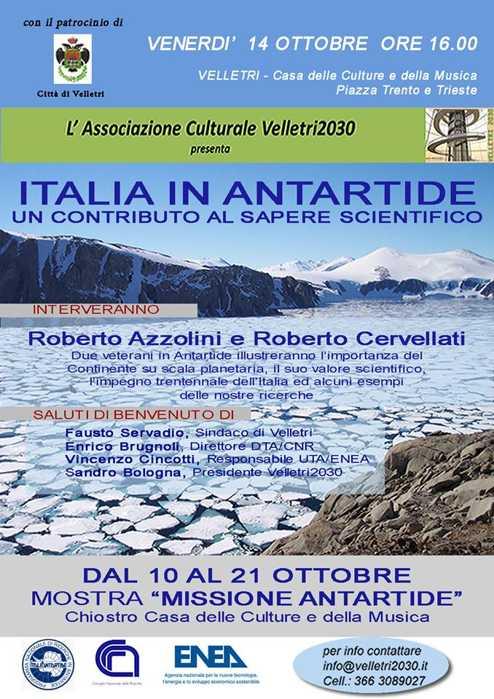 Mostra: Italia in Antartide