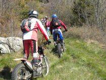 Motocross nell'area protetta di Monte Fiore a Rocca Priora: sanzionati due giovani