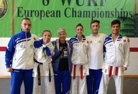 Karate, il Centro Fitness Montello sul podio agli Europei
