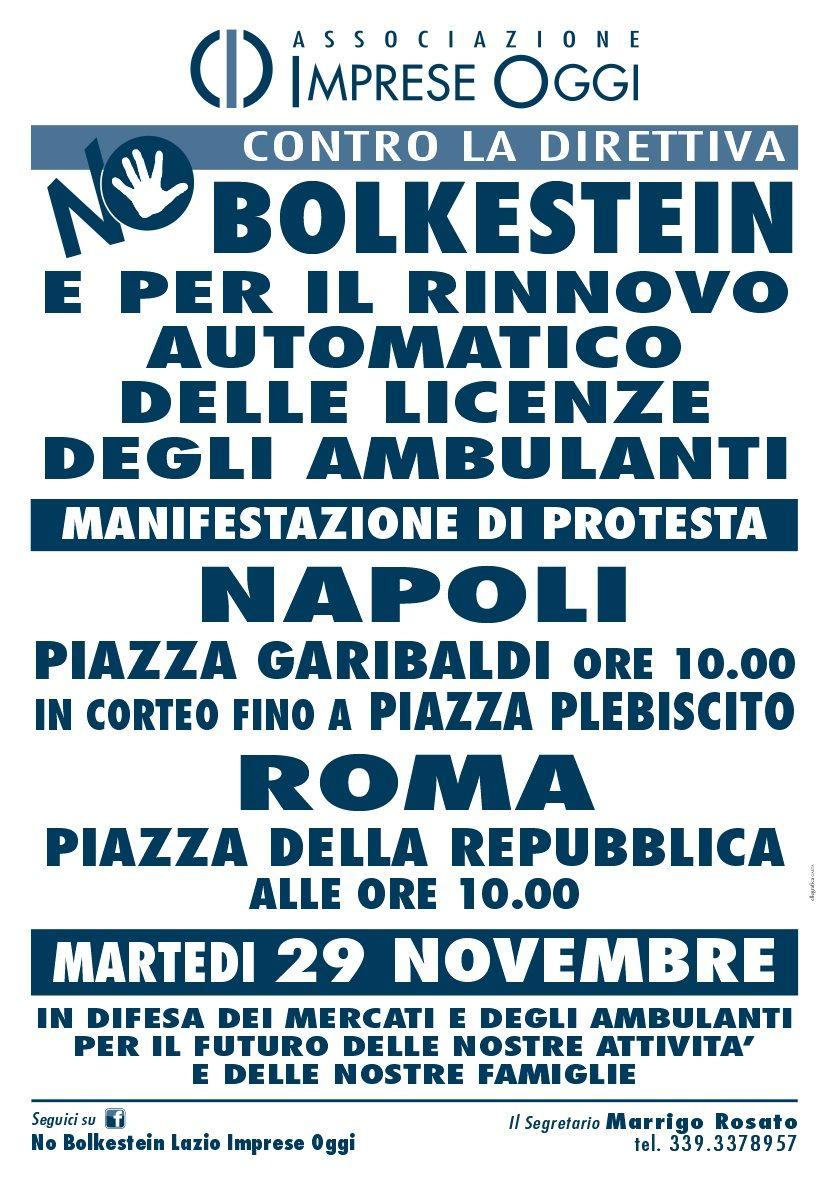 bolkestein manifestazione il 29 novembre a roma