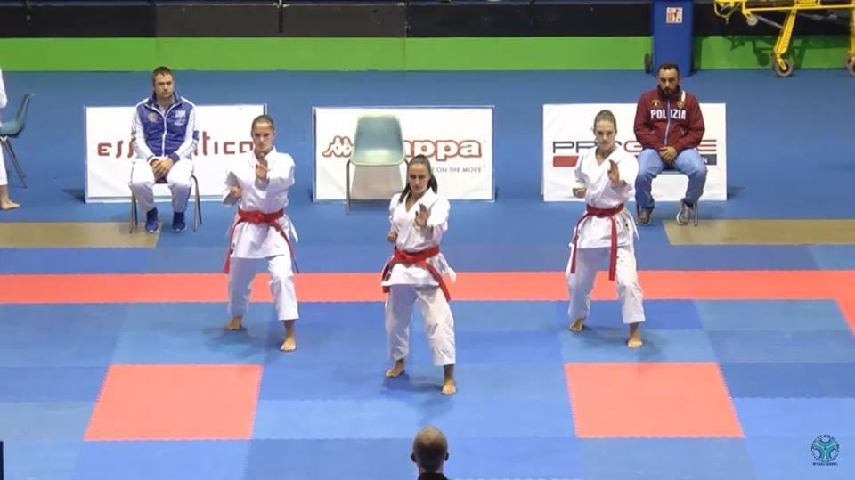 Nicosante oro campionato italiano Karate
