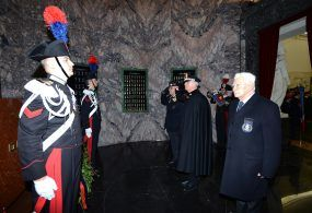 """L'Arma dei Carabinieri celebra la """"Virgo Fidelis"""""""