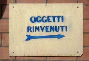 Velletri – Segnalato dall'ente comunale il ritrovamento di oggetti smarriti