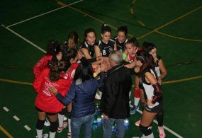 Vittoria delle ragazze della under 18 elite contro Roma 7 Volley