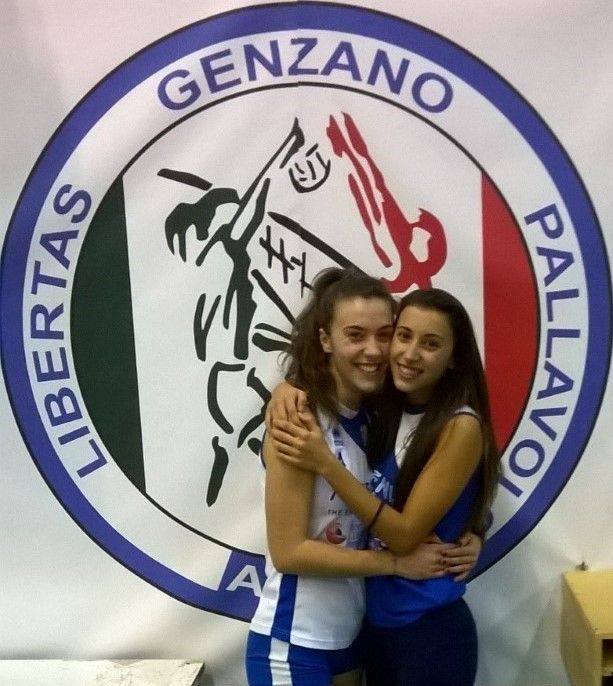 sorelle costa pallavolo genzano