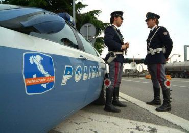 la stradale di albano denuncia pirata della strada