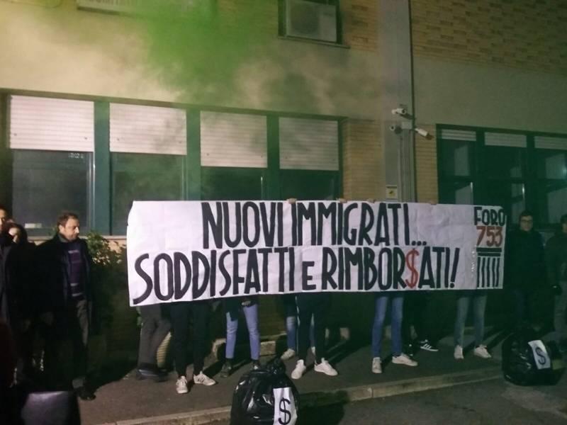 Blitz in sede CRI Roma