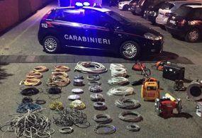 Continuano i furti di rame sul territorio; l'ultimo sventato a Roma dai Carabinieri
