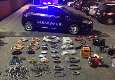 oro rosso rame roma carabinieri
