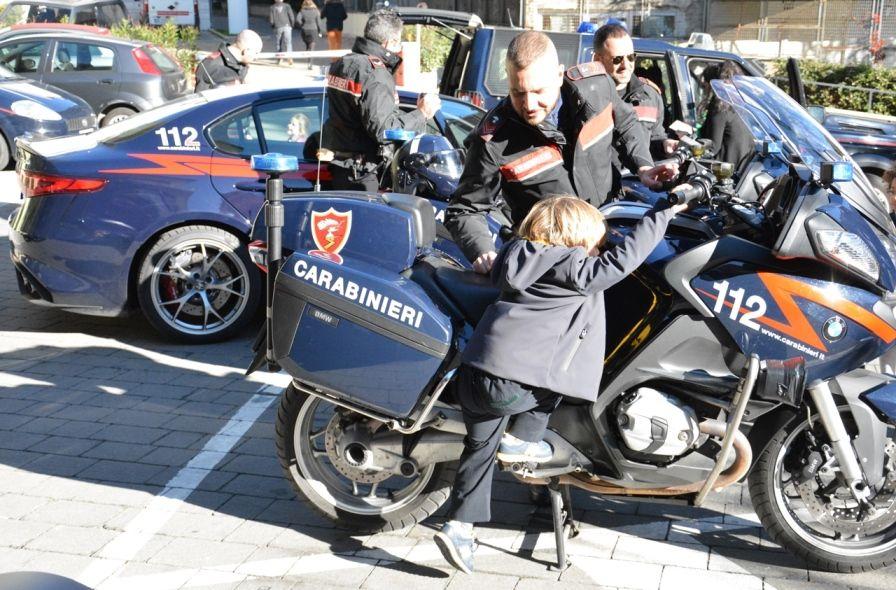 carabinieri scuola bambini legalità
