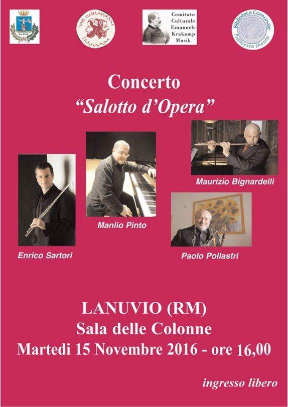 lezione concerto lanuvio 15 dicembre