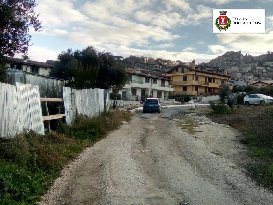 """Rocca di Papa - Quartiere calcare, """"le opere di urbanizzazione sono un diritto dei cittadini"""""""