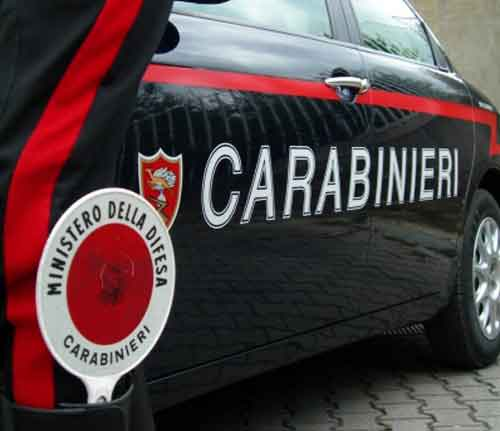 carabinieri roma inseguimento