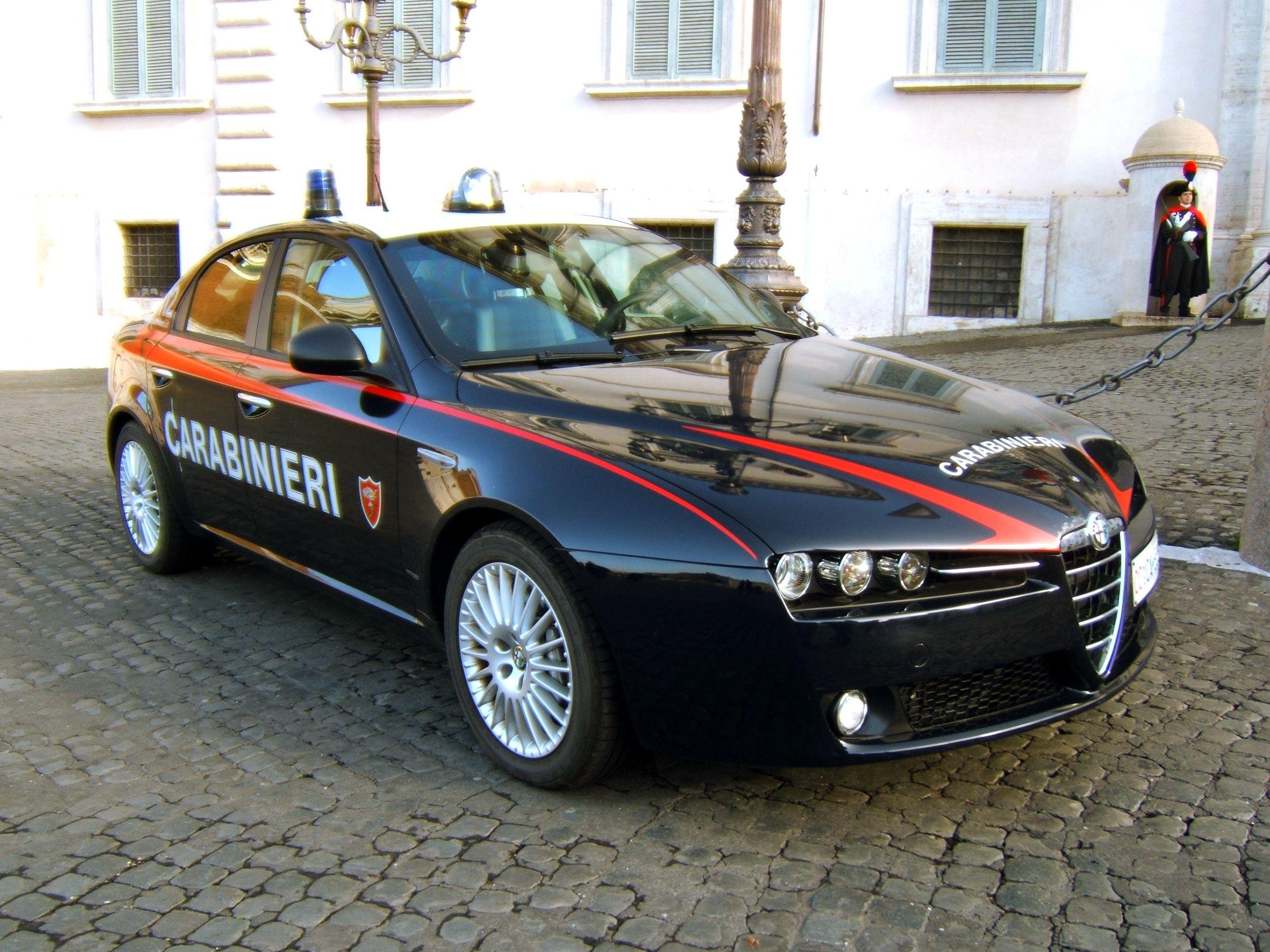 Carabinieri roma pusher