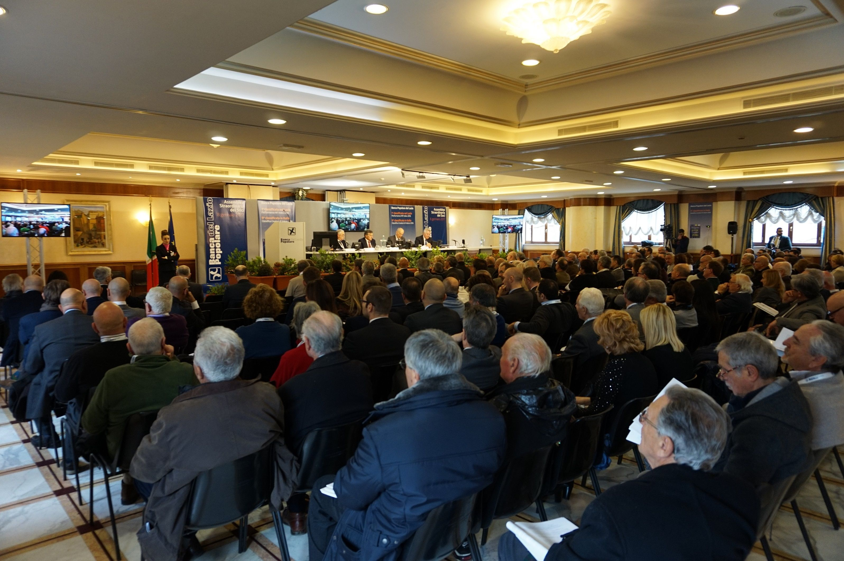 Assemblea Banca Popolare del Lazio