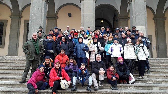 Il CAI di Aprilia, in visita al Parco dei Castelli Romani