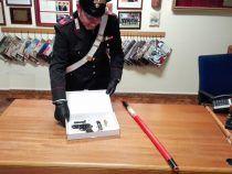 Porto abusivo di arma clandestina, Carabinieri di Colleferro arrestano tre persone