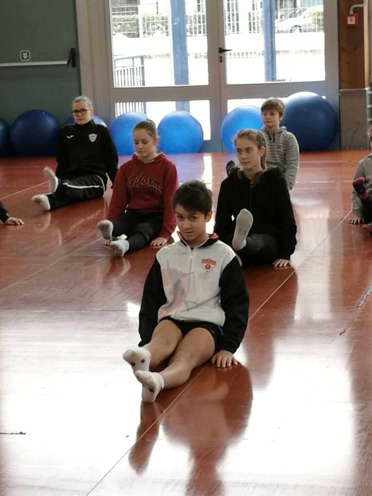 Sport - Federico Guidi nella selezione regionale d'aerobica