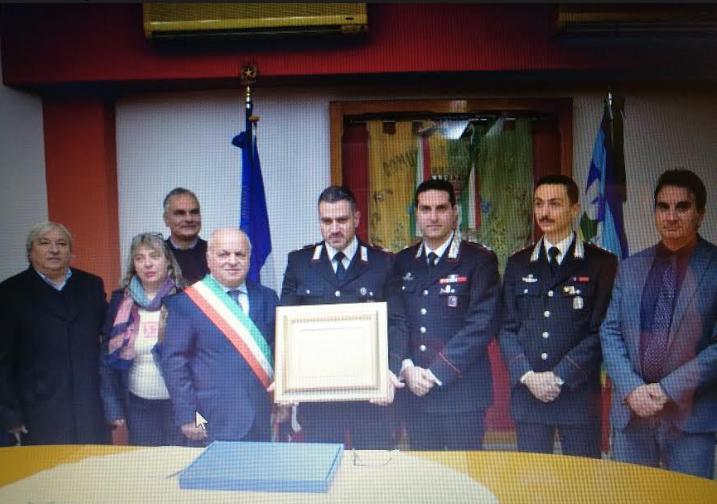 lariano sindaco caliciotti salvatore pomarico carabiniere