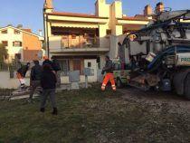 L'Amministrazione di Albano Laziale effettua un intervento di bonifica in Via Madonna degli Angeli