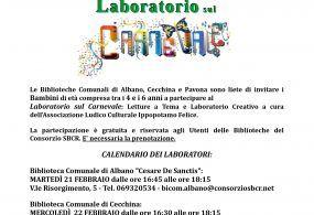 Carnevale, in arrivo laboratori per bambini ad Albano, Cecchina e Pavona