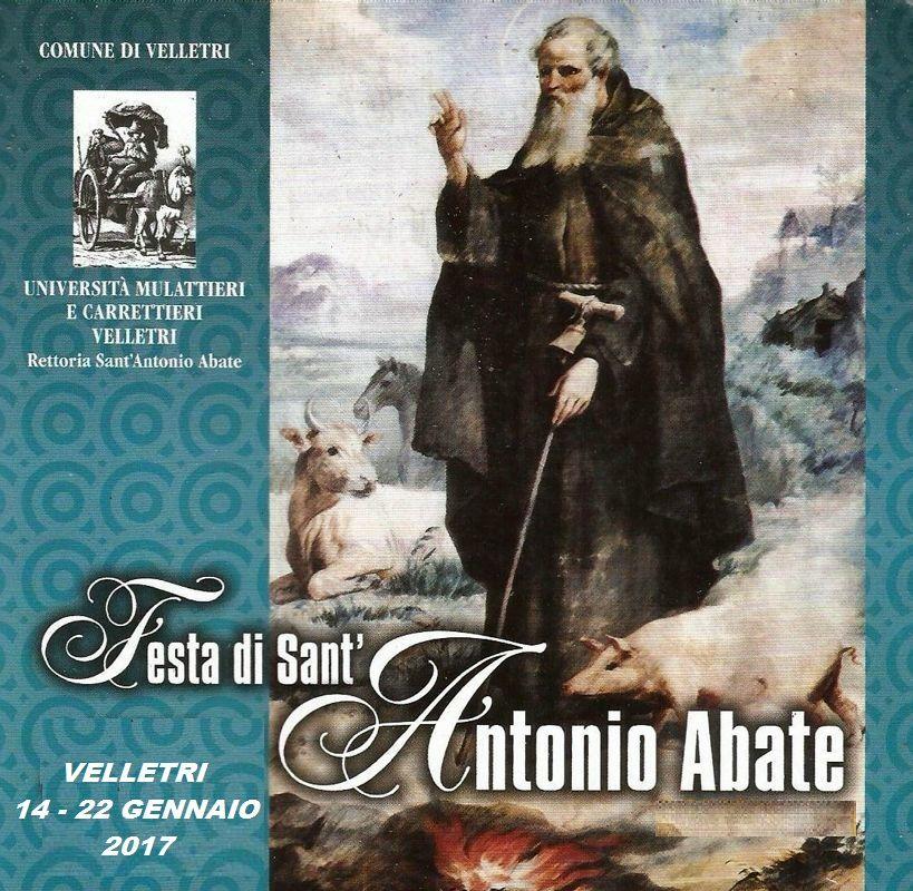 velletri festa sant'antonio abate e sagra della polenta e dei zampitti