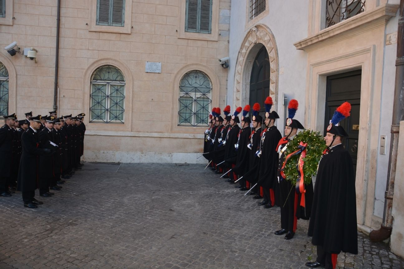 Roma carabinieri andrea moneta pilastro