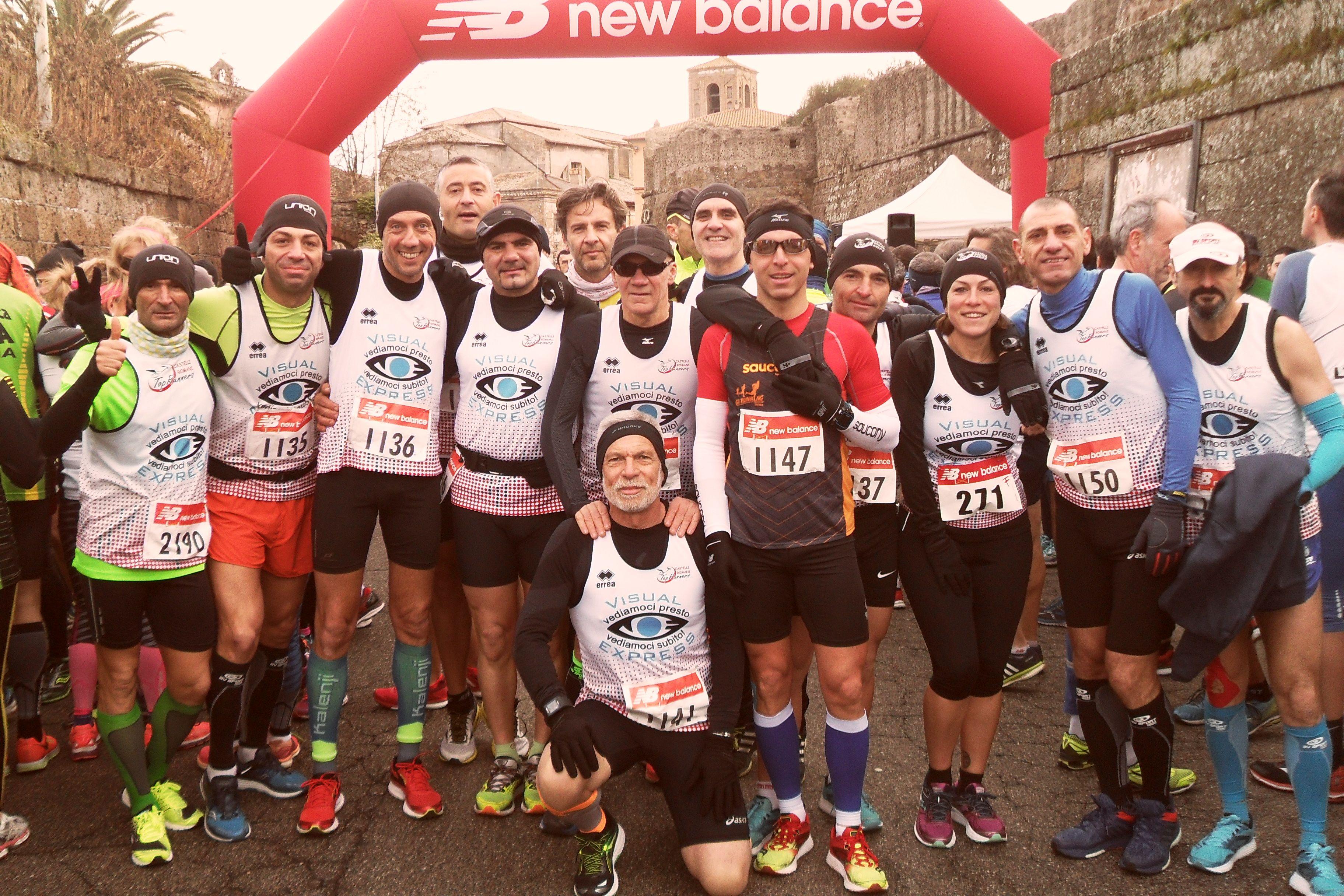 Top runners maratonina comuni castelli romani