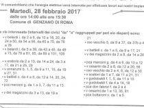 Martedì mezza Genzano senza elettricità: ecco le strade interessate