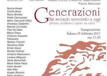 mostra generazioni a Marino