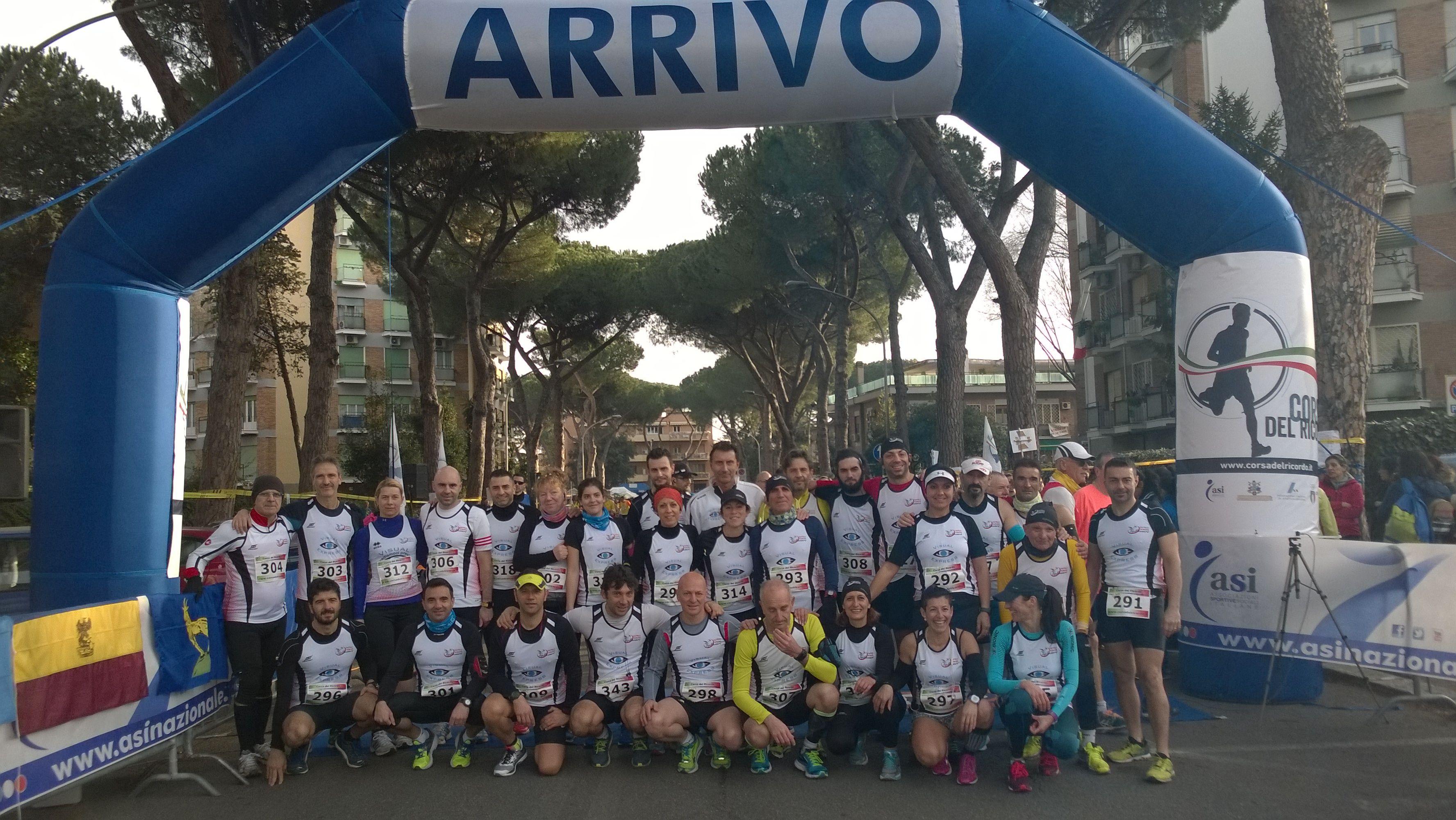 lariano top runners corsa ricordo