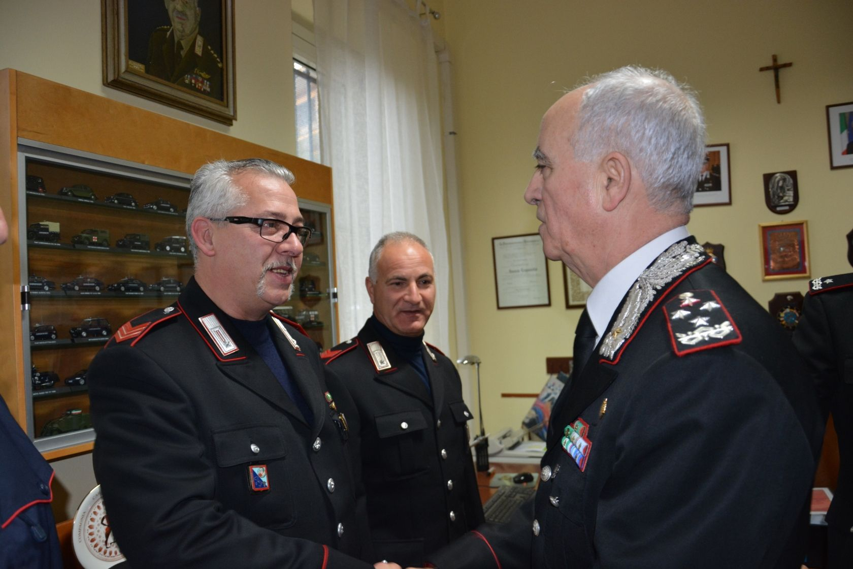 carabinieri comandante del sette san cesareo rapinatori