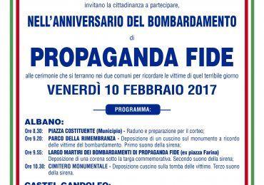 bombardamenti propaganda fide