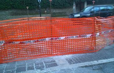 lavori in corso a Pavona