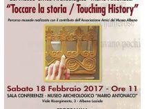 Al Museo Civico di Albano arriva il percorso tattile per ipovedenti