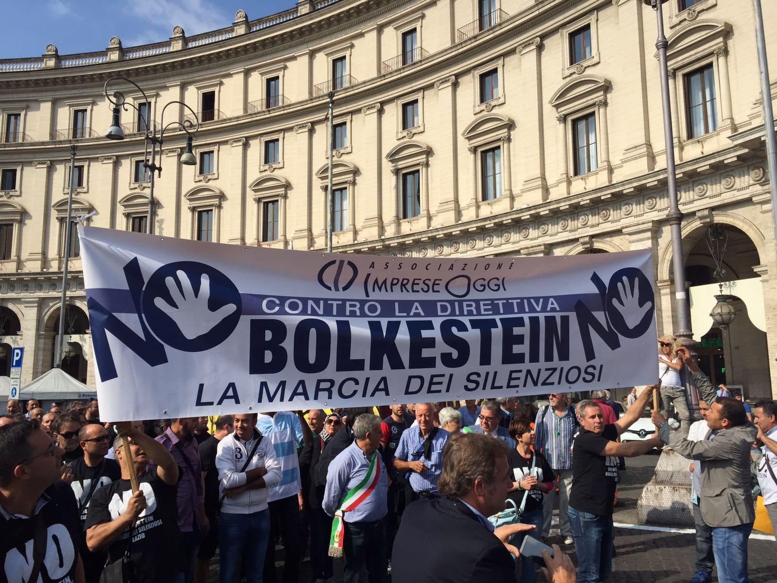 bolkestein protesta bando genzano