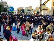 Un buon successo per la prima giornata del Carnevale Larianese; QUI FOTO