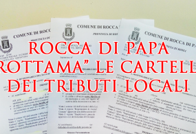"""Rocca di Papa """"rottama"""" le cartelle dei tributi comunali"""