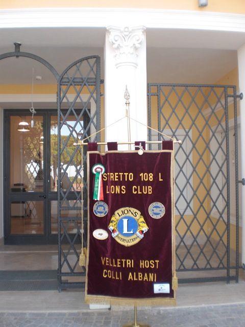 lions club velletri colli albani terremoto