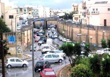 il traffico a Malta