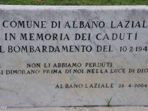 Albano e Castel Gandolfo all'unisono nel 73° anniversario del bombardamento di Propaganda Fide; ecco il resoconto
