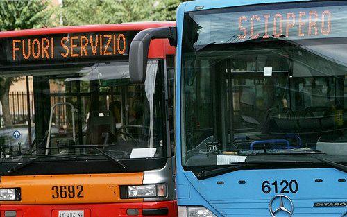 sciopero mezzi pubblici genzano