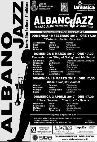 Locandina Albano jazz