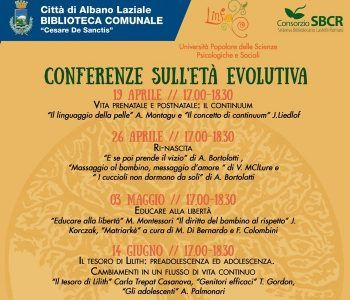 conferenze età evolutiva