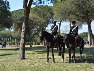 controlli a cavallo o auto elettriche castelli romani